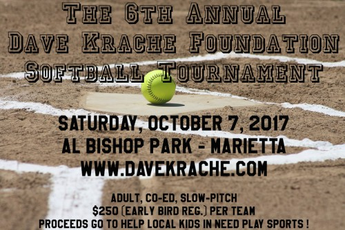 The 6th Annual DKF Adult Co-Ed Slow-Pitch Softball ...